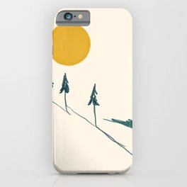 The Forest Tree Line iPhone Case