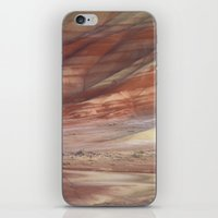 minerals iPhone & iPod Skins featuring Hills Painted by Earth Minerals by Leland D Howard