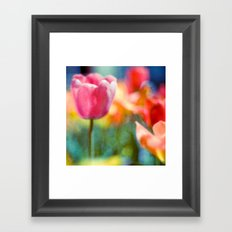 hazy Framed Art Print