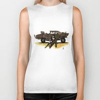 mad max Biker Tanks featuring MAD MAX by Gregory Casares