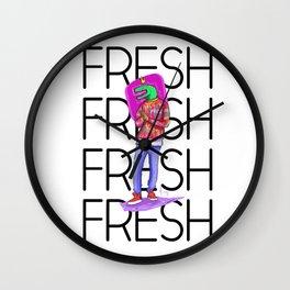 Raptor Fresh Wall Clock