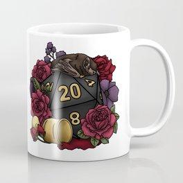 Vampire D20 Tabletop RPG Gaming Dice Coffee Mug