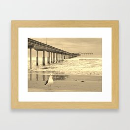 Another storm about to roll in Framed Art Print