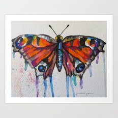 Butterfly (Transformation)  Art Print