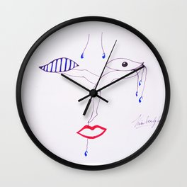Dance in the jail of tears Wall Clock