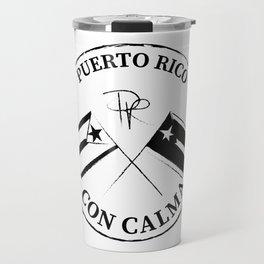 CON CALMA PUERTO RICO Travel Mug
