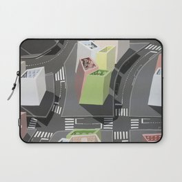 Inside-out - urban living Laptop Sleeve
