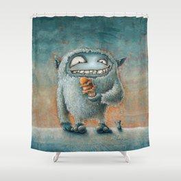 Yeti Beti Shower Curtain