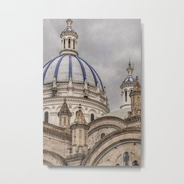 Immaculate Conception Cathedral Cuenca, Ecuador Metal Print
