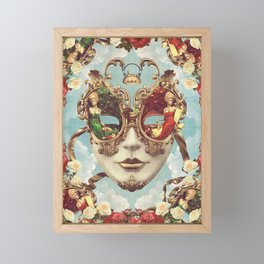 Floral Opulence Framed Mini Art Print