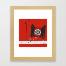 Ripe to leave home Framed Art Print