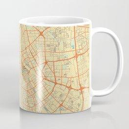 Tianjin Map Retro Coffee Mug