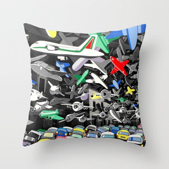 Osservatorio federiciano Throw Pillow