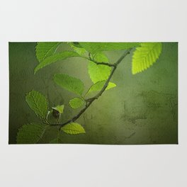 Forest Leaves Rug