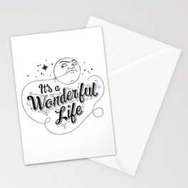 It's a Wonderful Life - Title Stationery Cards