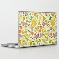 fruit Laptop & iPad Skins featuring Fruit Mix by Anna Deegan