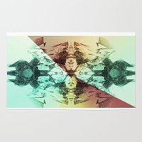 alchemy Area & Throw Rugs featuring Alchemy Experiment 8 by garciarts