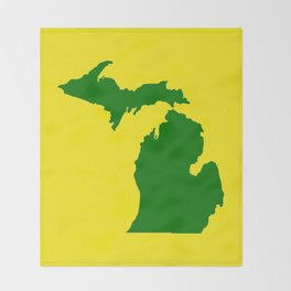 Michigan Football Throw Blanket