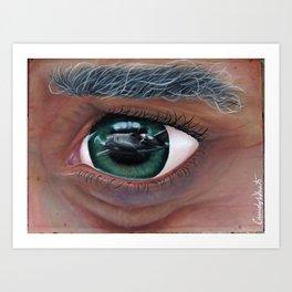 Eye Past the Sky Art Print