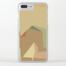 Warm Latte (Flavor in art) Clear iPhone Case