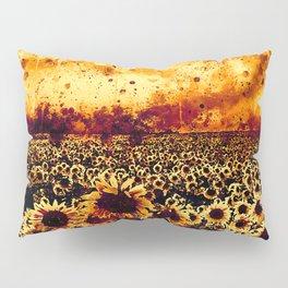 abstract sunflowers wsls Pillow Sham