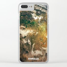 Romulus - Romulan Home World Clear iPhone Case