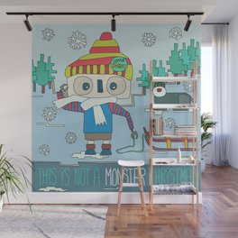 This is not a Monster Christmas Wall Mural