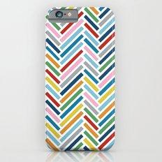 Herringbone Colour Zoom Slim Case iPhone 6s