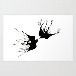 Swallows Art Print