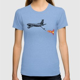 KC-135 Flames T-shirt