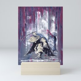 'The Winter Ronin Strikes' Mini Art Print