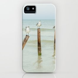 Four on a poles iPhone Case