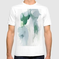 Greenpeace Lily White MEDIUM Mens Fitted Tee