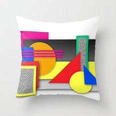 New Age Composition 2 Throw Pillow