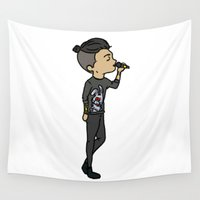 zayn Wall Tapestries featuring Philly Zayn by clevernessofyou