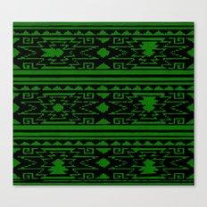Aztec 3# Canvas Print