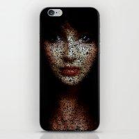 kate bishop iPhone & iPod Skins featuring Kate by Robotic Ewe