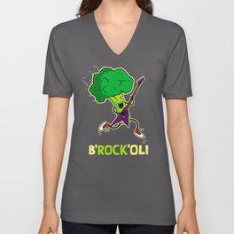 B'ROCK'OLI rocks! Unisex V-Neck
