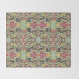 Celadon Japonica Throw Blanket