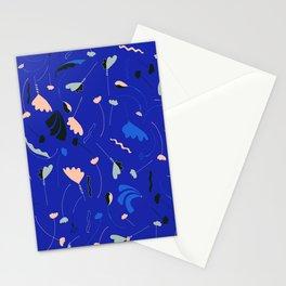 Frilly Blue  Stationery Cards