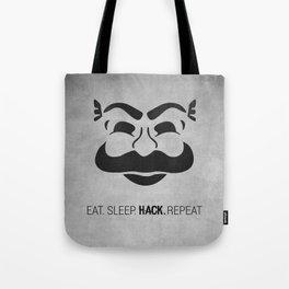 Mr Robot Tote Bag