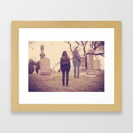 Returning to the Afterlife  Framed Art Print