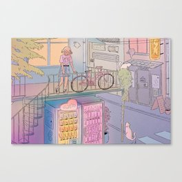 City Escape Canvas Print