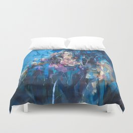 Chimera No.1 by Andres kal Duvet Cover