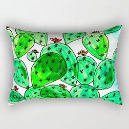 Cacti with marble sky Rectangular Pillow