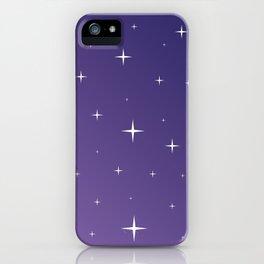 Violet Night iPhone Case