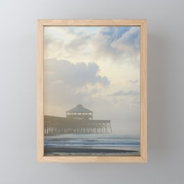 Folly Pier Mist 1 Framed Mini Art Print