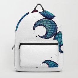 Gaillardia Dot Backpack