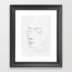 Leave me be Framed Art Print