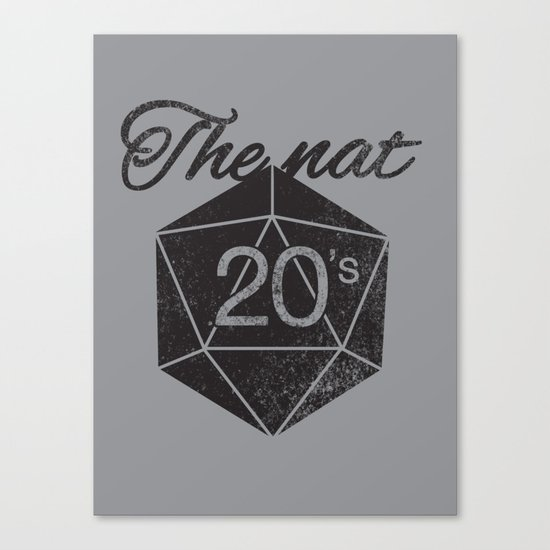 The Nat 20's Canvas Print